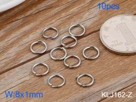 SS Small Circle--8x1mm---10pcs Pirce
