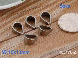 Stainless Steel Pendant Clasp--5pcs Pirce