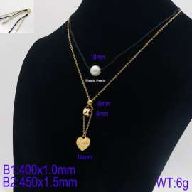 SS Gold-Plating Necklace
