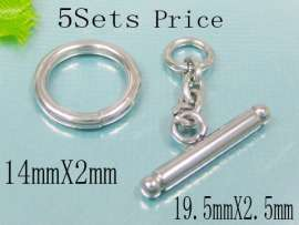 Stainelss Steel Toggle Clasps--5sets Price
